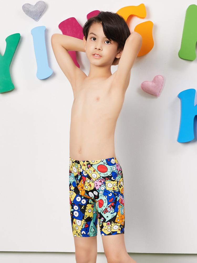 Y0237,图片1,儿童五分泳裤