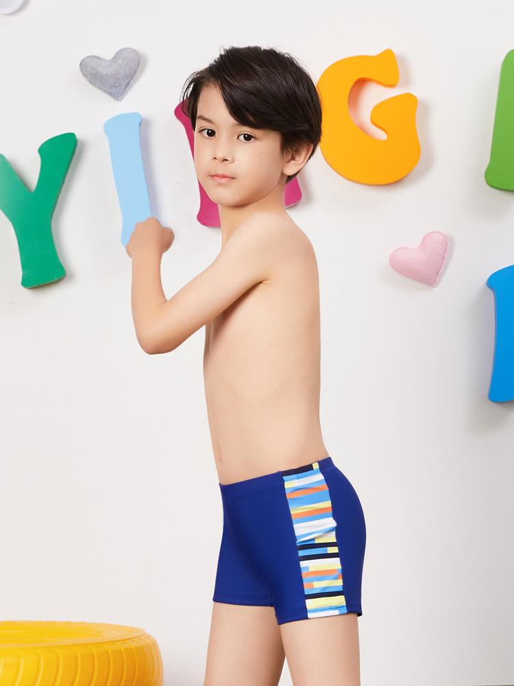 Y0233,图片2,儿童平角泳裤
