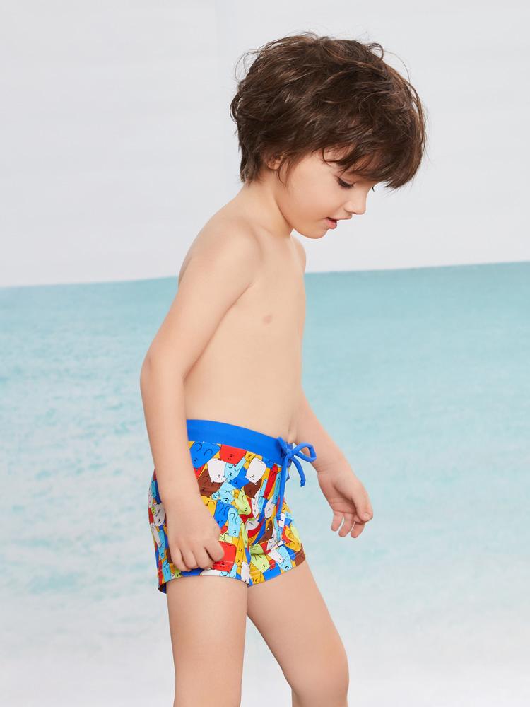 Y0250,图片2,学游泳平角短裤