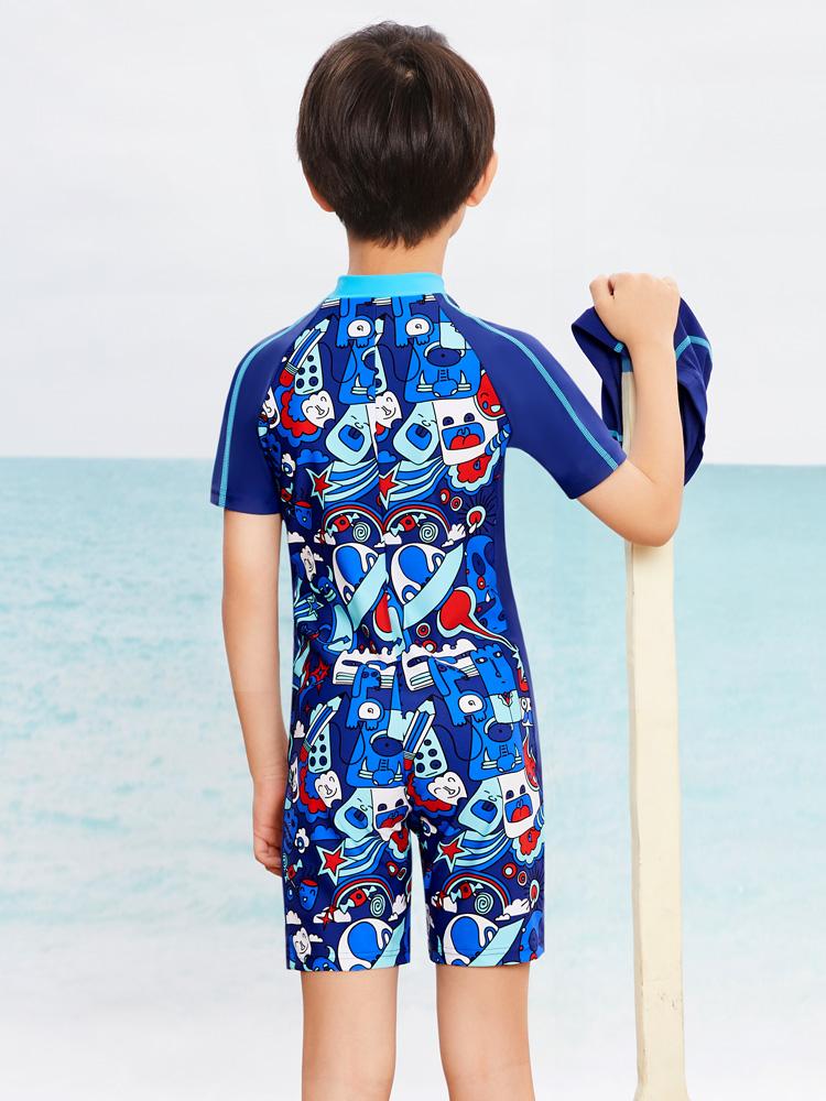 Y0507,图片3,男童连体游泳衣