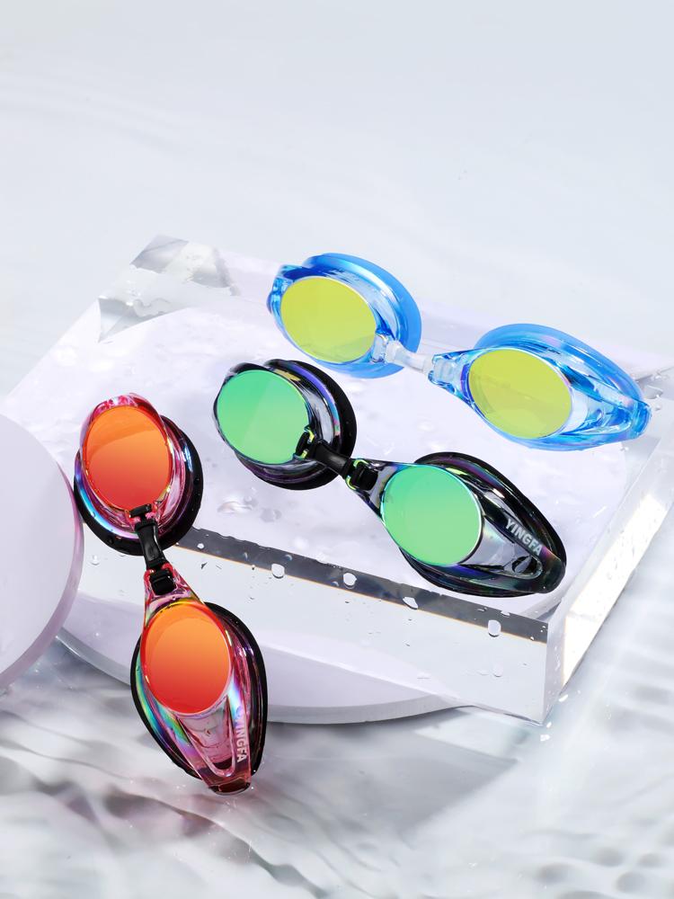 Y185AF(V),图片2,防雾炫彩电镀膜泳镜