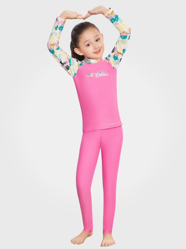 Y0501,图片0,女童分体泳衣