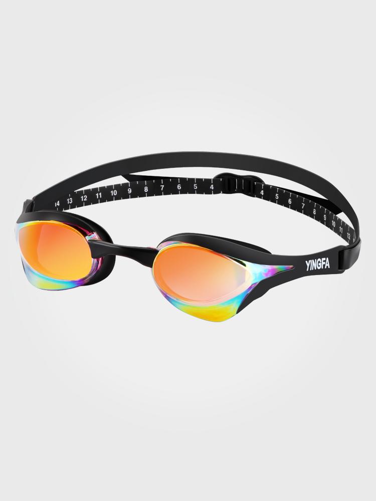 Y828AF(V),图片0,防雾多彩镀铬泳镜