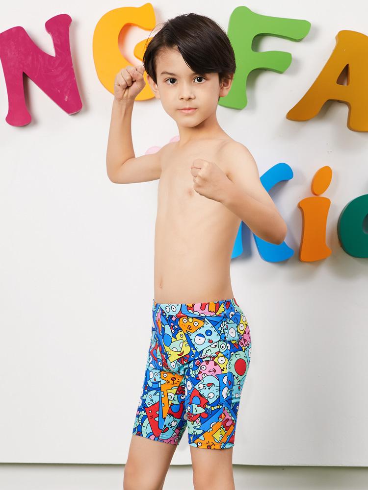 Y0237,图片2,儿童五分泳裤