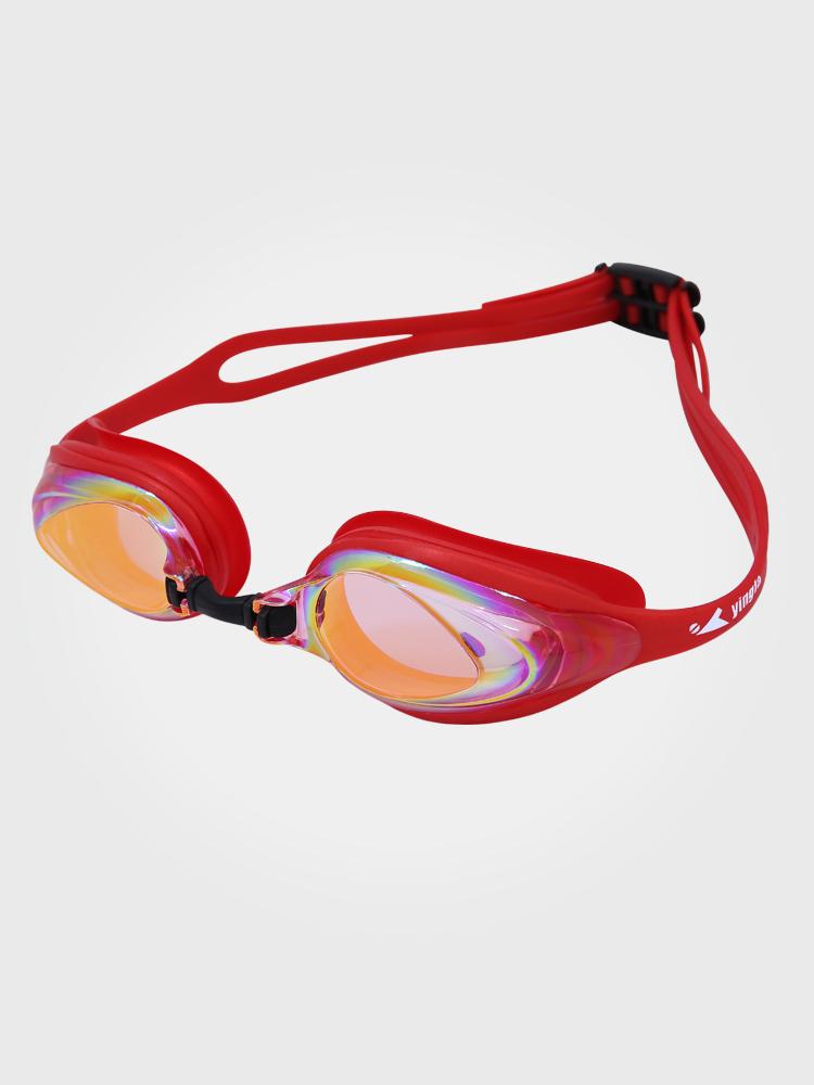 Y110AF(V),图片0,防雾防水中框多彩镀膜泳镜