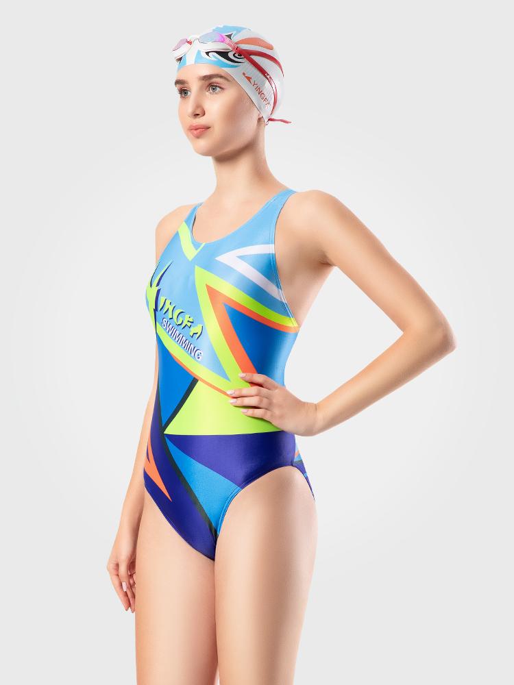 702,图片0,专业竞技三角连体泳衣