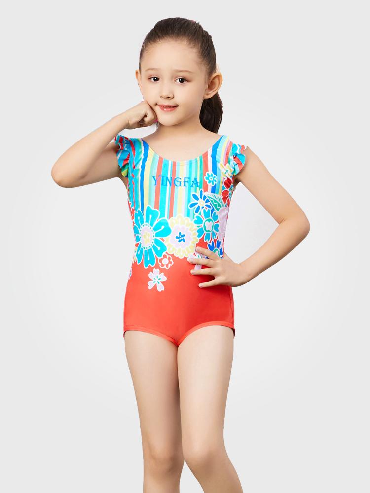 Y0383,图片0,女孩可爱防晒游泳衣