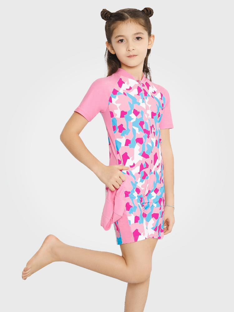 Y0359,图片0,女童可爱防晒游泳装