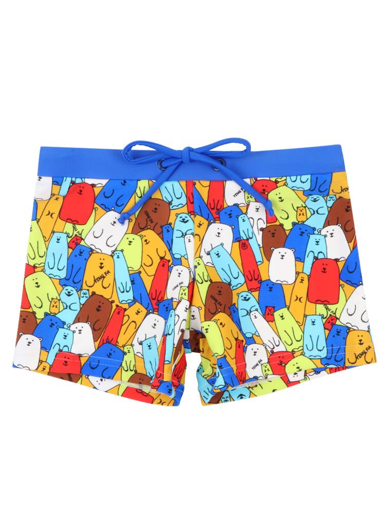 Y0250,图片4,学游泳平角短裤