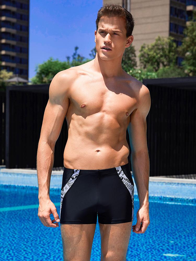 Y3825,图片2,男士平角泳裤