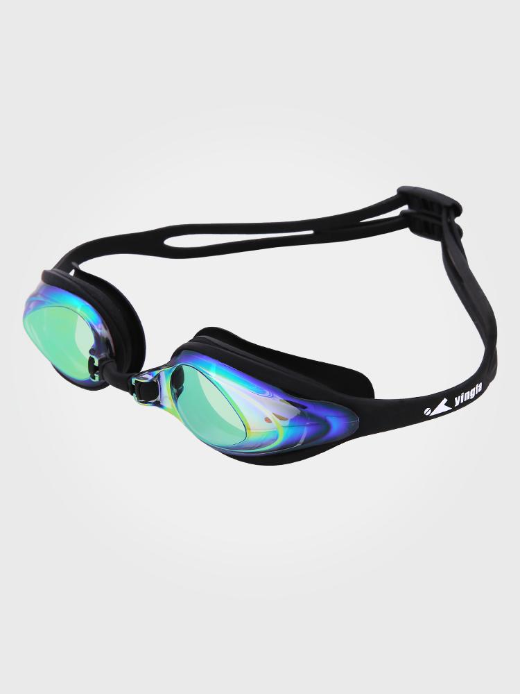 Y110AF(V),图片3,防雾防水中框多彩镀膜泳镜