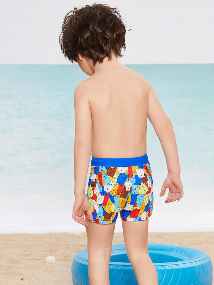 Y0250,图片3,学游泳平角短裤