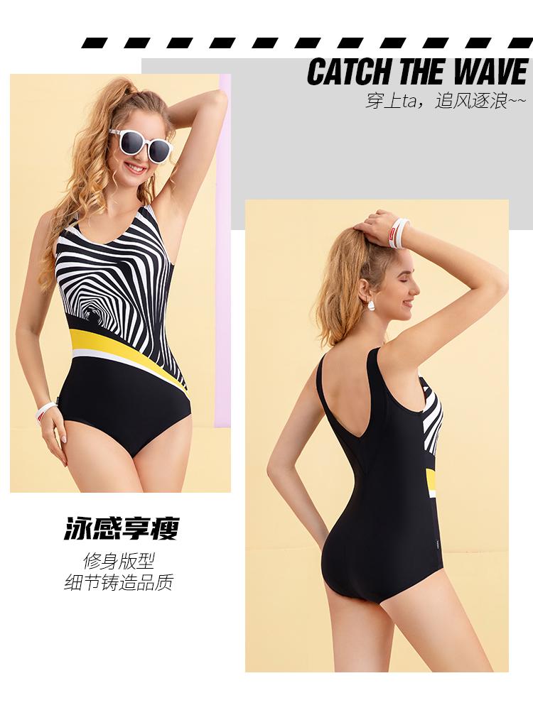 Y2108,图片4,三角连体泳衣