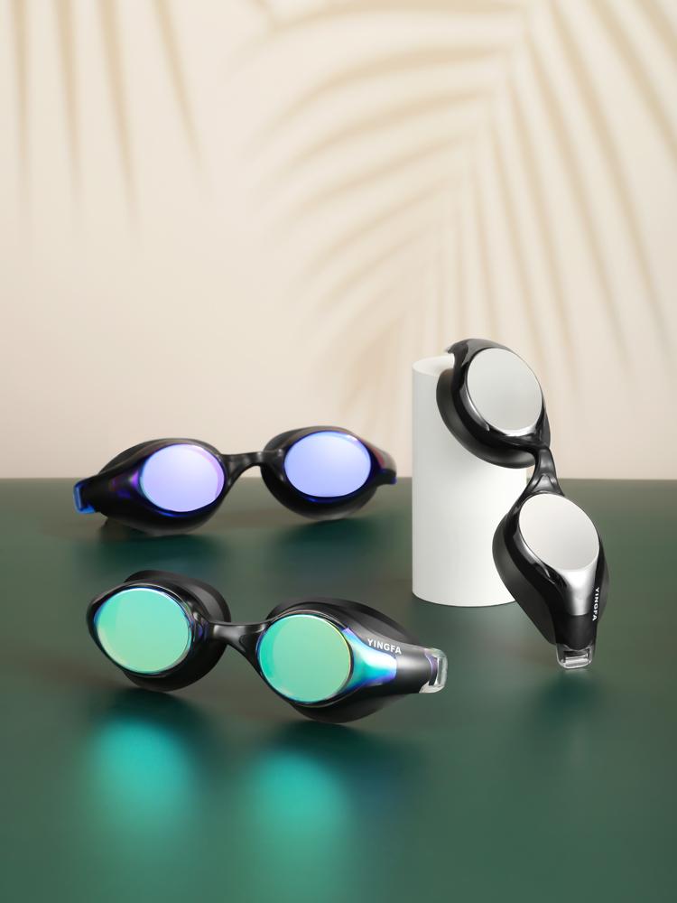 Y686AF(V),图片1,防雾炫酷多彩镀膜泳镜