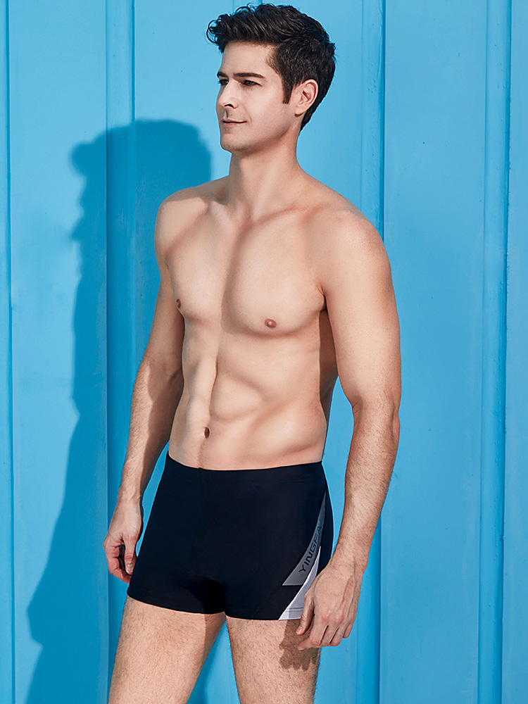Y3911,图片1,男士平角泳裤