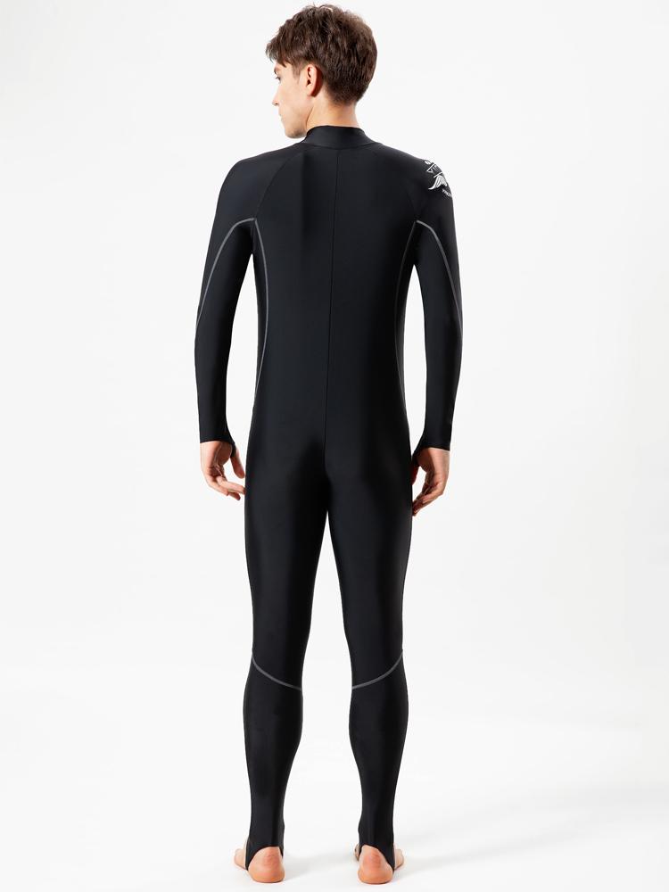 Y2168,图片4,男士连体水母衣