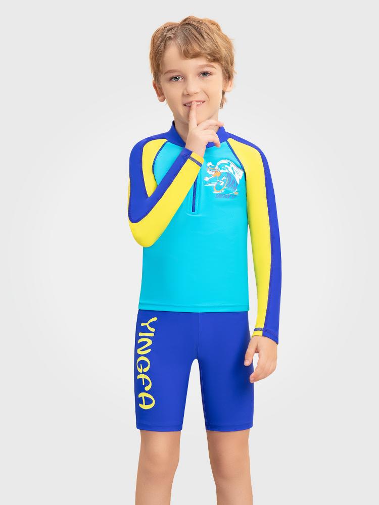 Y0533,图片0,男童分体泳衣