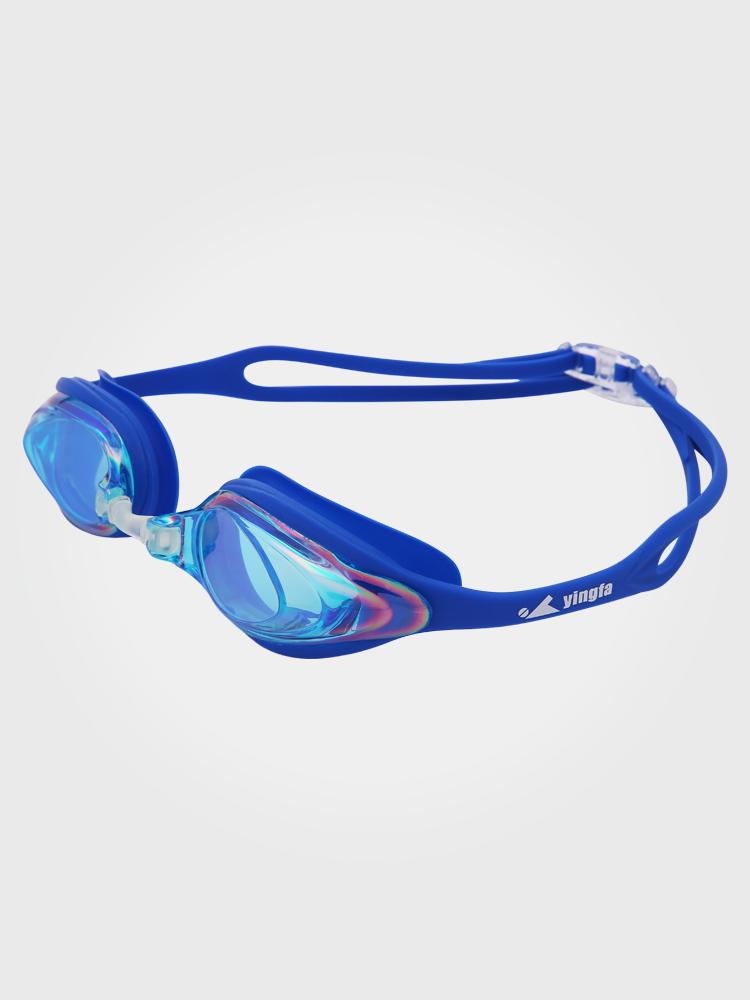 Y110AF(V),图片1,防雾防水中框多彩镀膜泳镜
