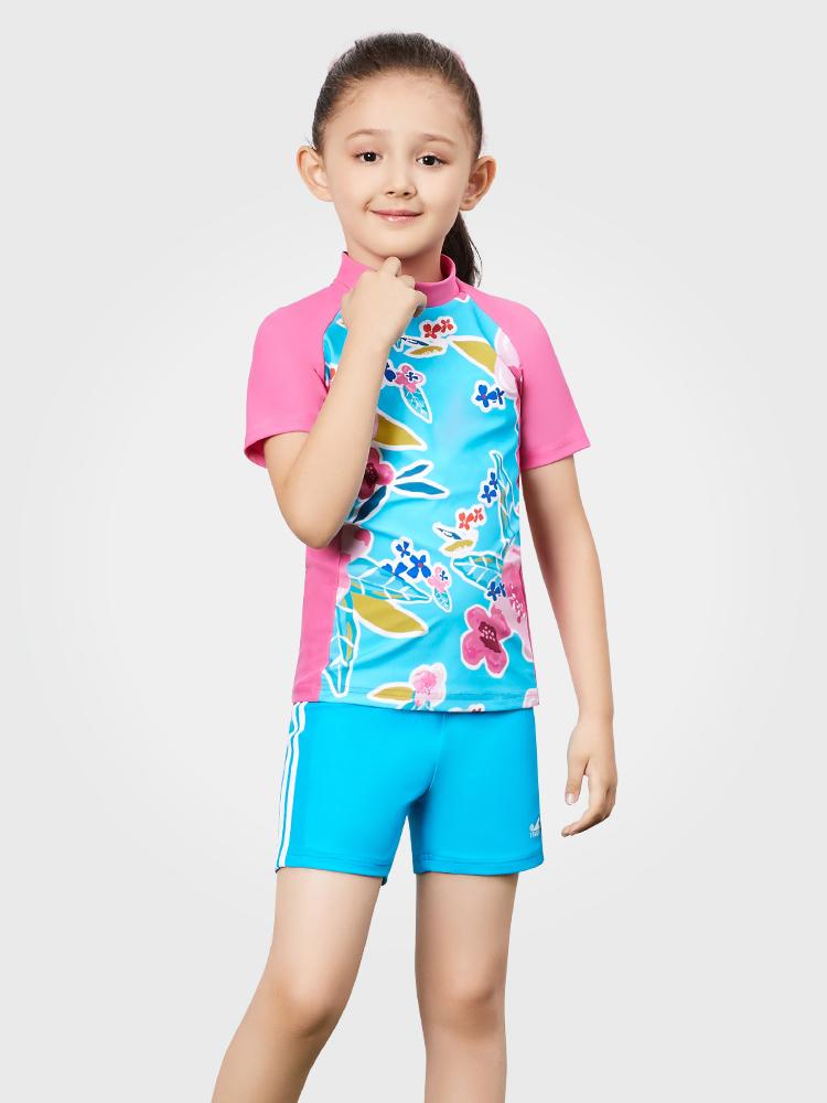 Y0380,图片0,女孩泳装泳裤套装