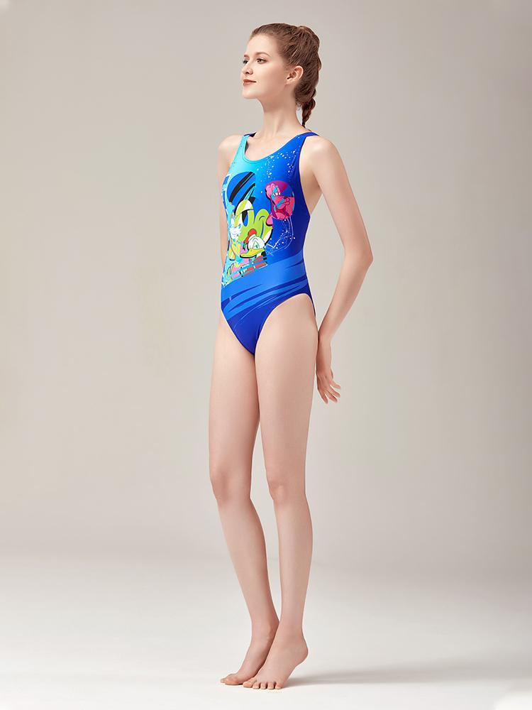 D22006,图片1,专业三角连体泳衣