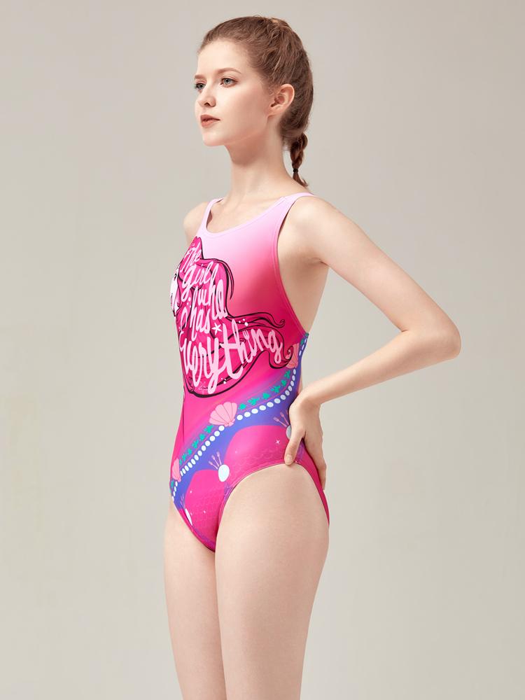 D22003,图片1,专业三角连体泳衣