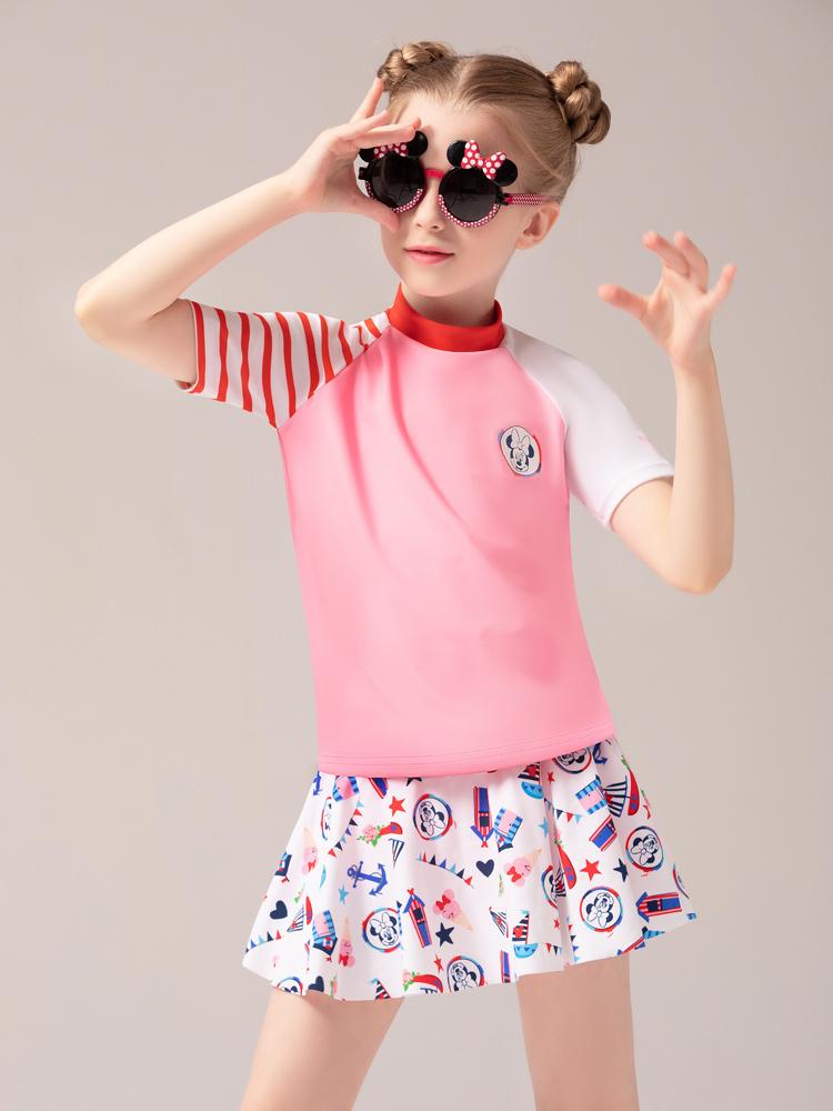 D23152,图片2,女童分体裙式泳衣