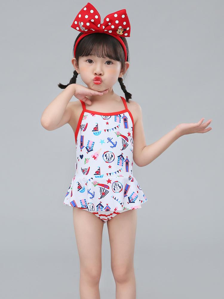 D23157,图片1,女童分体三角裙式泳衣