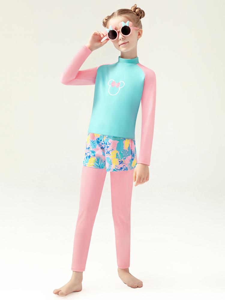 D23153,图片2,女童连体泳衣