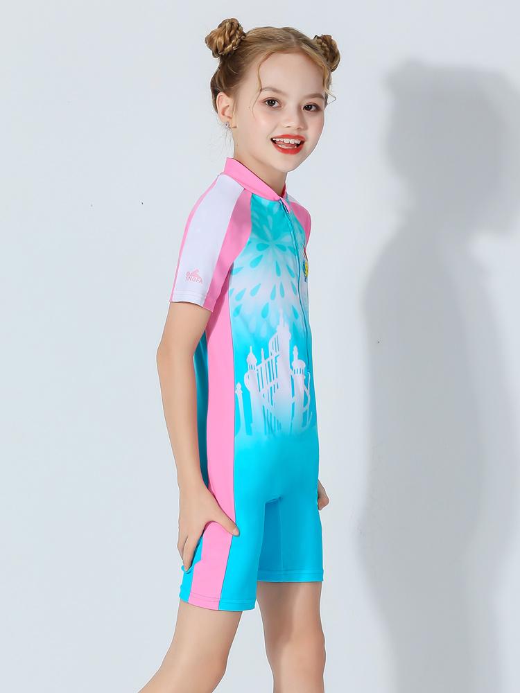 D23156,图片3,女童连体泳衣