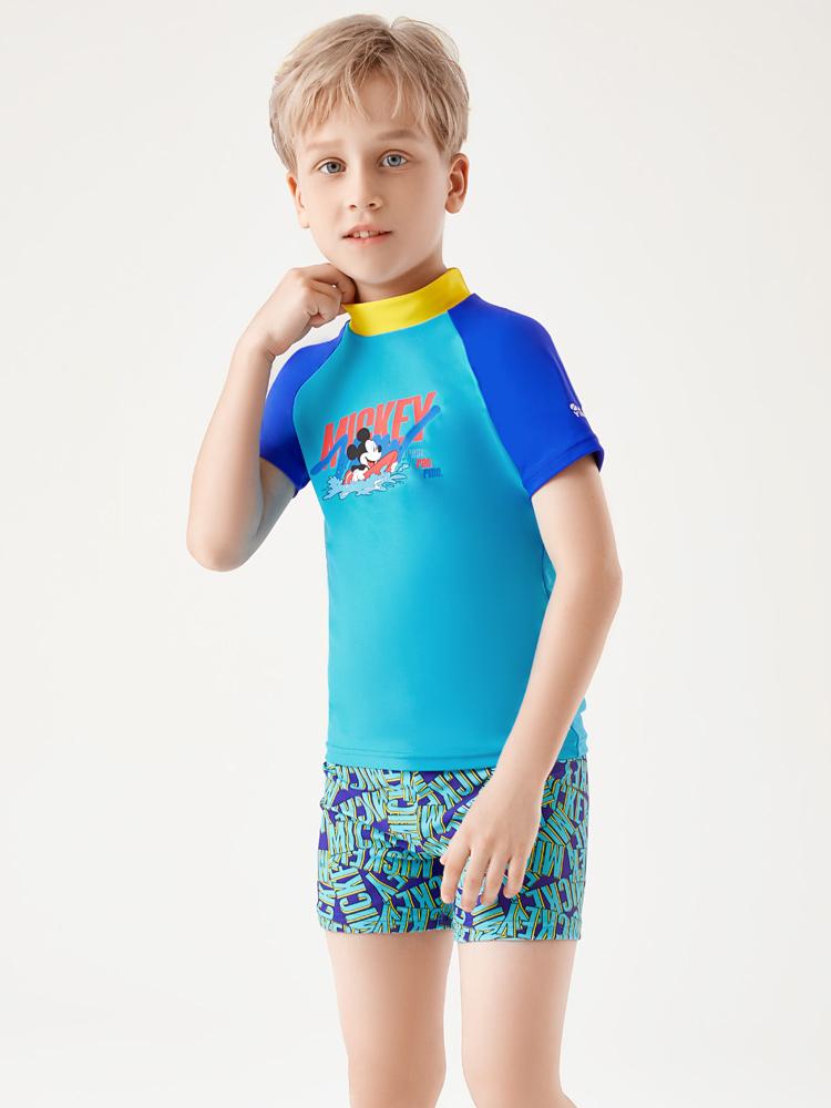 D23163,图片1,男童泳衣套装