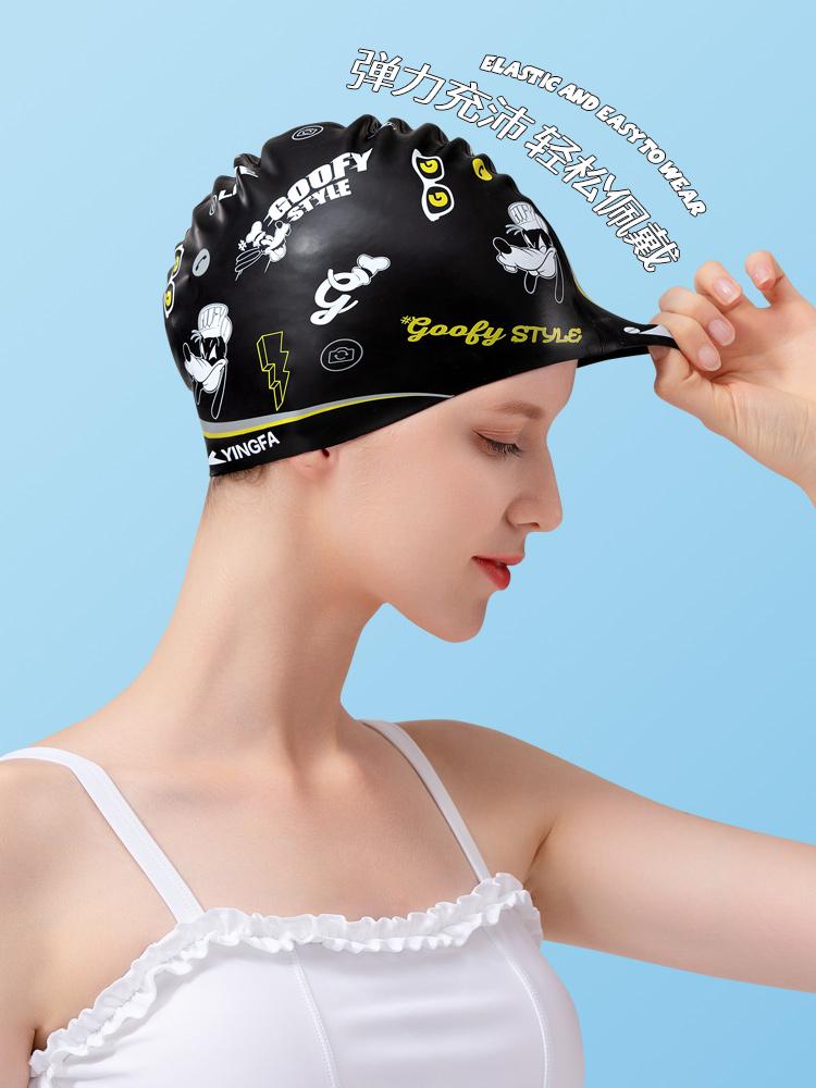 D21282,图片3,硅胶印花泳帽