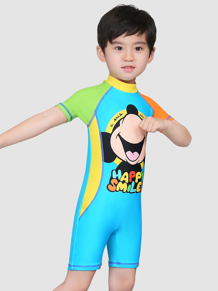 D23161,图片3,男童连体泳衣套装