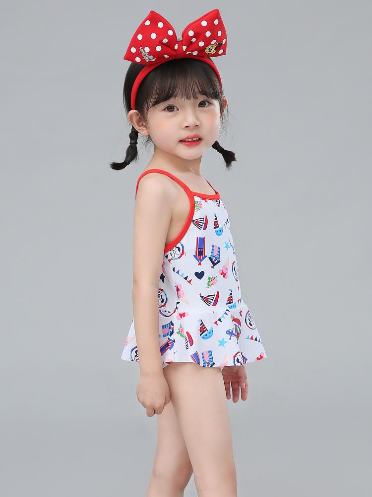 D23157,图片3,女童分体三角裙式泳衣