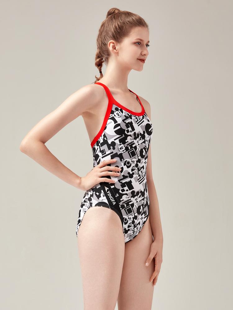 D22009,图片1,专业三角连体泳衣