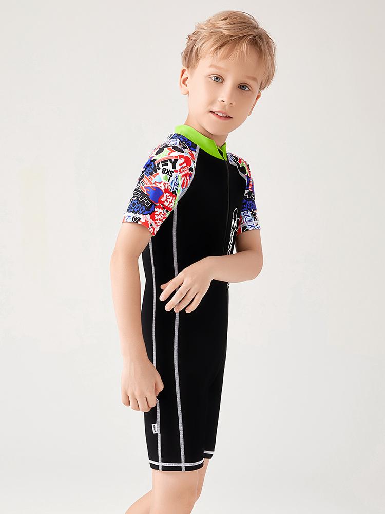 D23159,图片3,男童连体泳衣