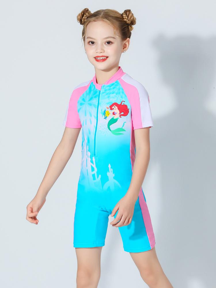 D23156,图片1,女童连体泳衣