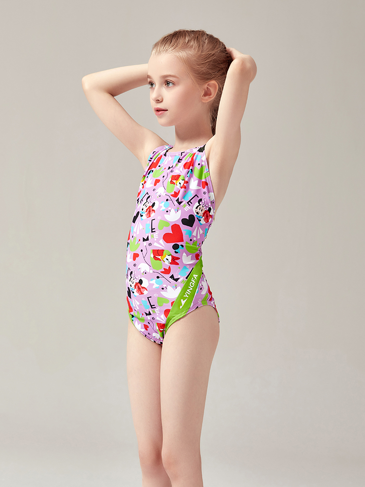 D22005,图片2,专业三角连体女士泳装