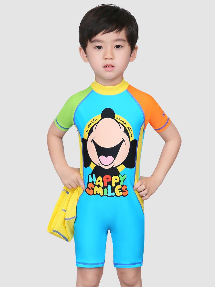 D23161,图片2,男童连体泳衣套装