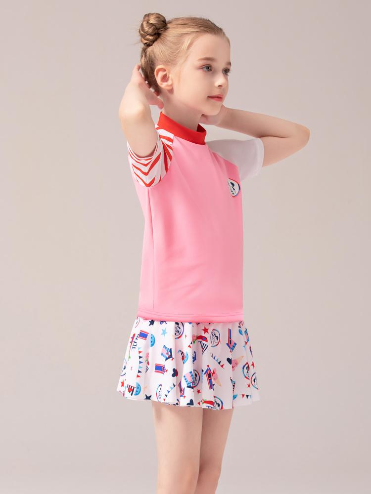D23152,图片3,女童分体裙式泳衣