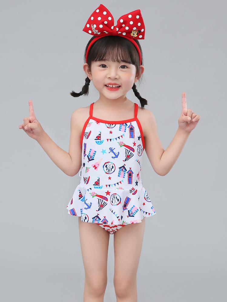 D23157,图片2,女童分体三角裙式泳衣