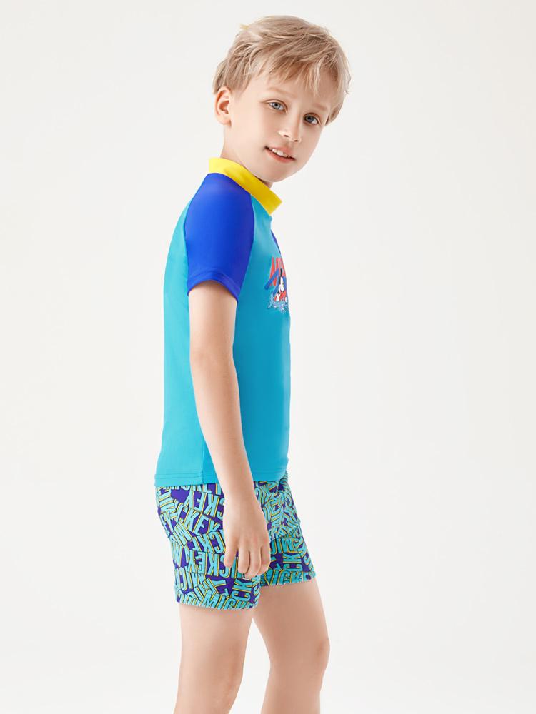 D23163,图片3,男童泳衣套装