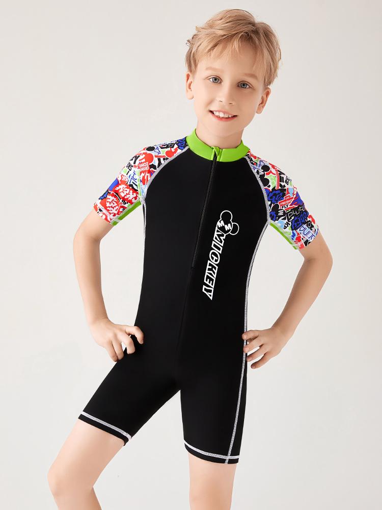 D23159,图片2,男童连体泳衣