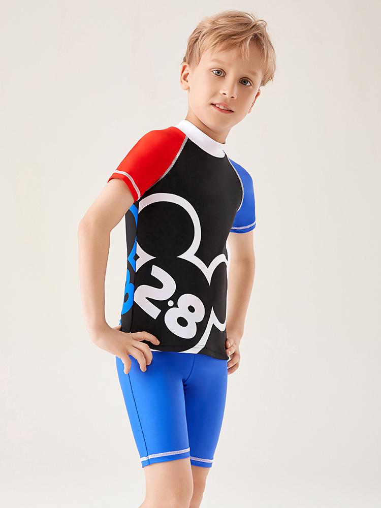 D23162,图片1,男童分体泳衣套装