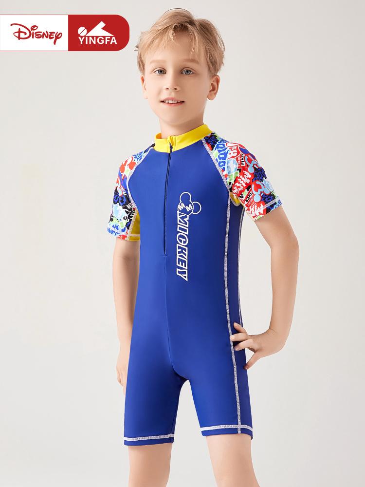 D23159,图片0,男童连体泳衣