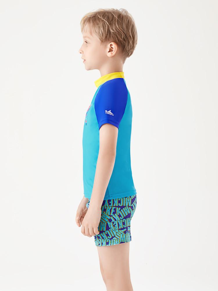D23163,图片2,男童泳衣套装