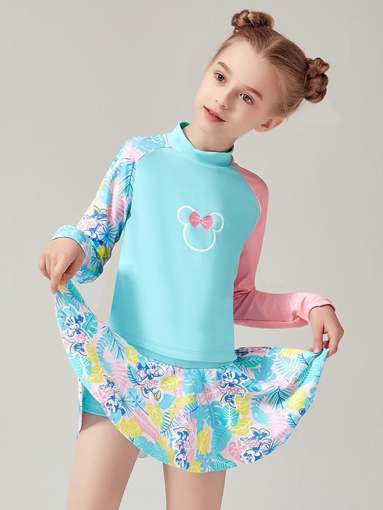 D23151,图片3,女童分体裙式泳衣