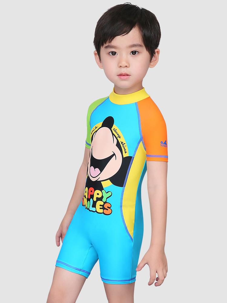 D23161,图片1,男童连体泳衣套装