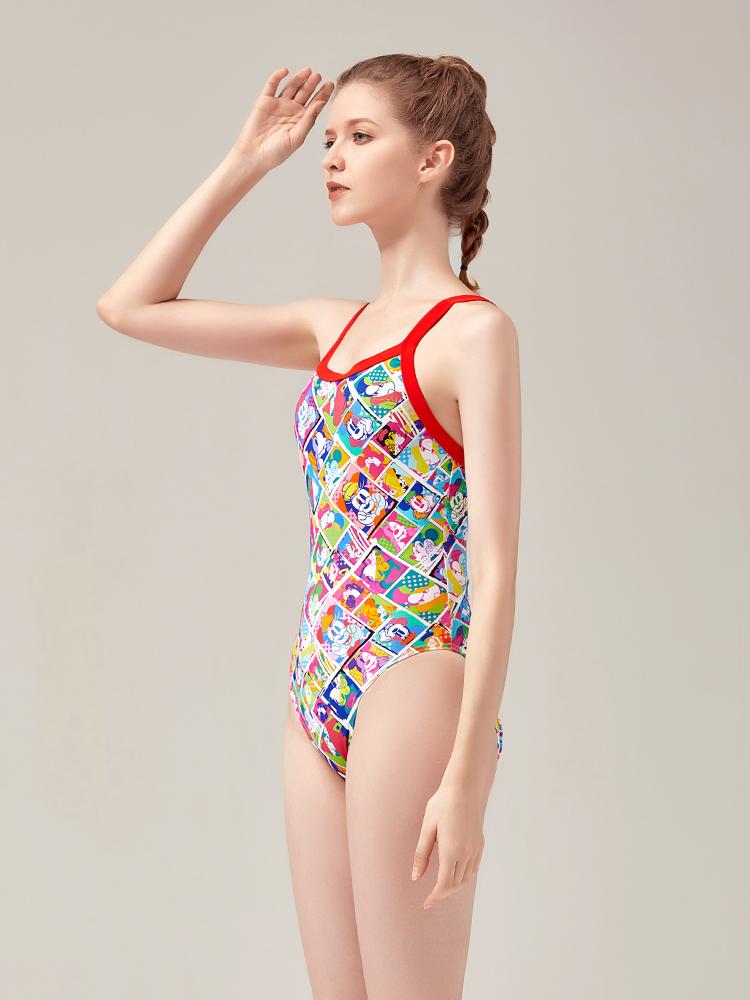 D22008,图片1,专业三角连体泳衣